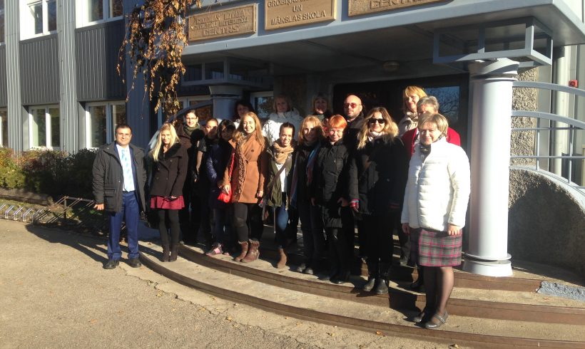 First Developing EU meeting in Grobina, Latvia